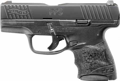 Walther PPS M2 facing left
