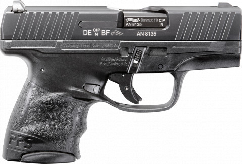 Walther PPS M2 facing right