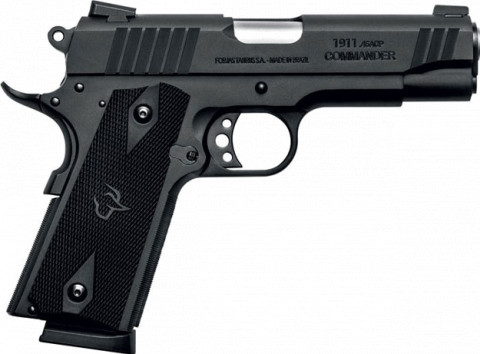 Taurus 1911 Commander facing right