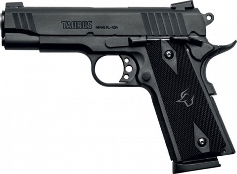 Taurus 1911 Commander facing left