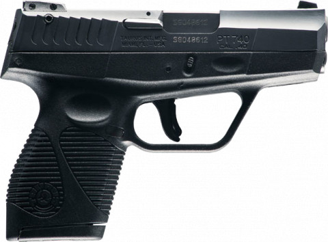 Taurus Slim 740 facing right