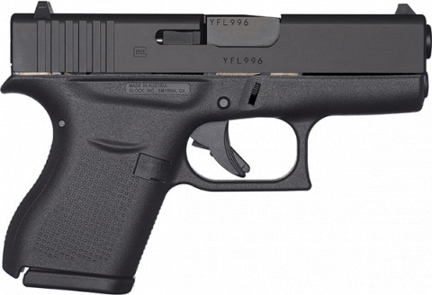 Glock G43 facing right
