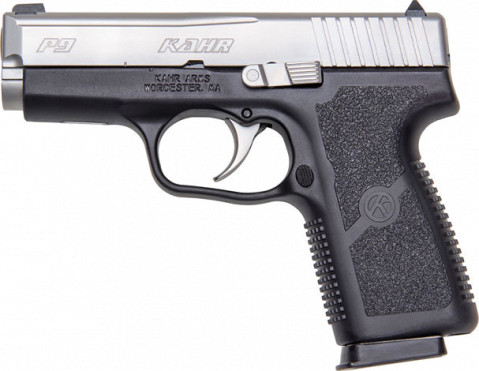 Kahr P9 facing left