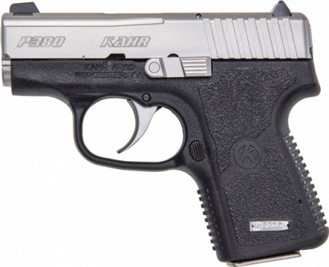 Kahr P380 facing left
