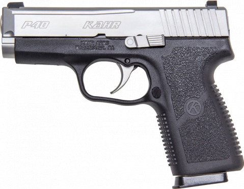 Kahr P40 facing left