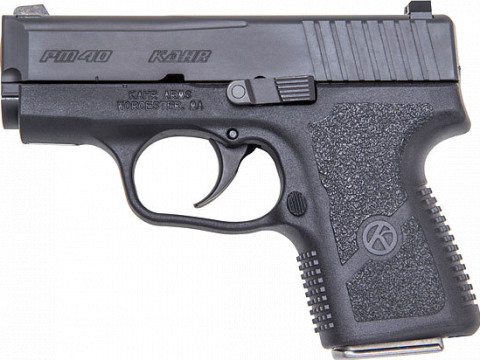Kahr PM40 facing left