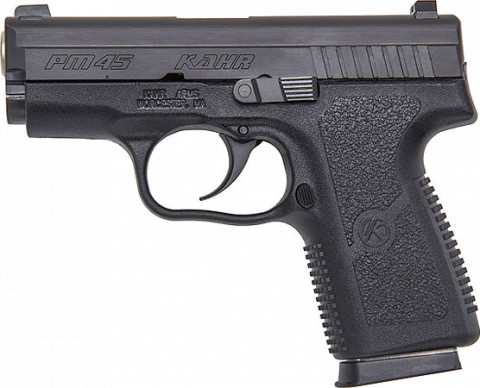 Kahr PM45 facing left