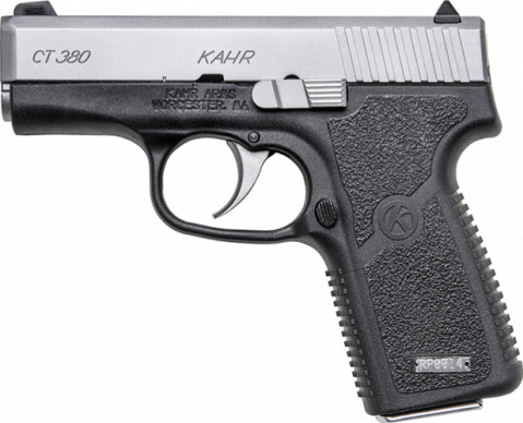 Kahr CT380 facing left