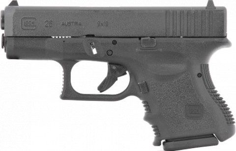 Glock G26 Gen4 facing left