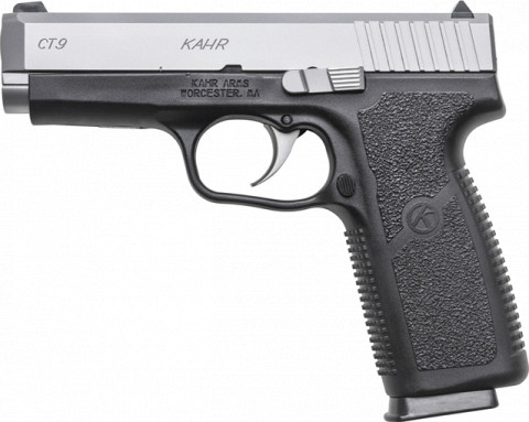 Kahr CT9 facing left