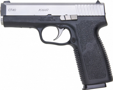 Kahr CT40 facing left