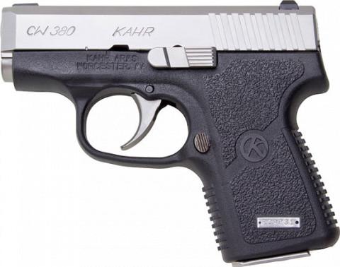 Kahr CW380 facing left