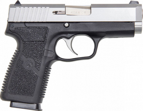 Kahr CW40 facing right