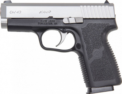 Kahr CW40 facing left
