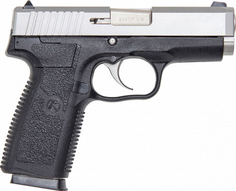 Kahr CW45 facing right