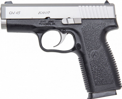 Kahr CW45 facing left