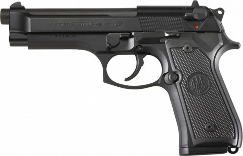 Beretta M9 facing left