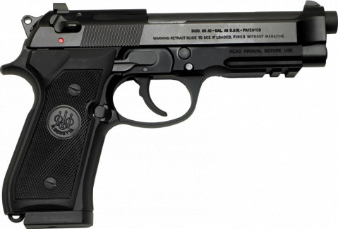 Beretta 96A1 facing right