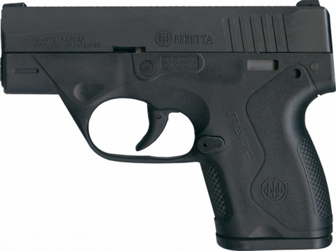 Beretta Nano facing left