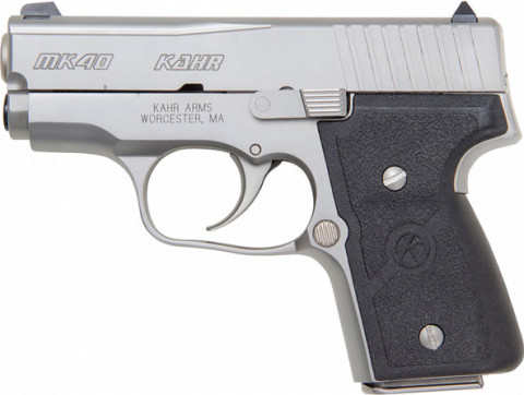 Kahr MK40 facing left