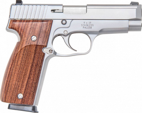 Kahr T9 facing right