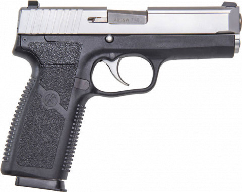 Kahr TP40 facing right