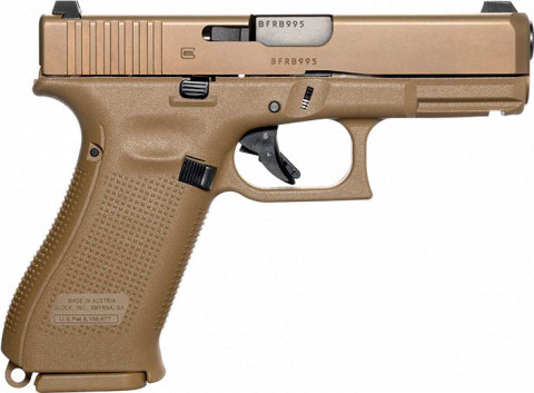 Glock G19x facing right