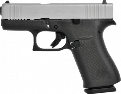Glock G43X facing left