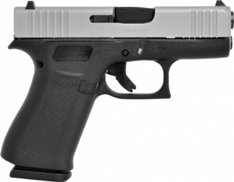 Glock G43X facing right