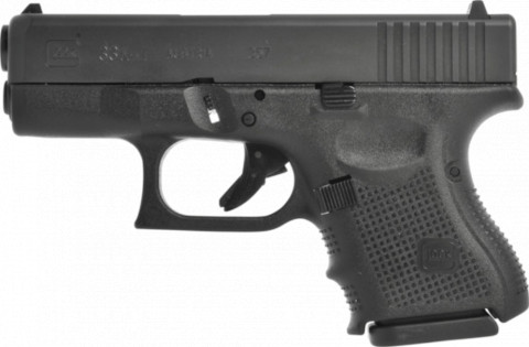 Glock G33 Gen4 facing left