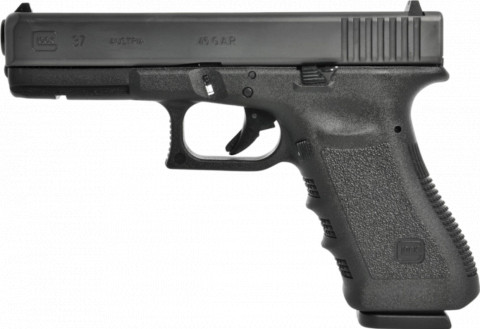 Glock G37 facing left