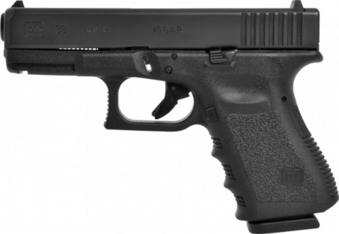 Glock G38 facing left