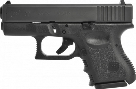Glock G39 facing left