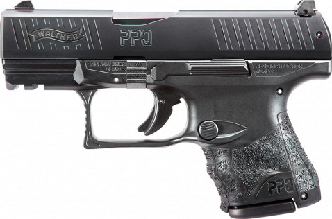 Walther PPQ SC facing left