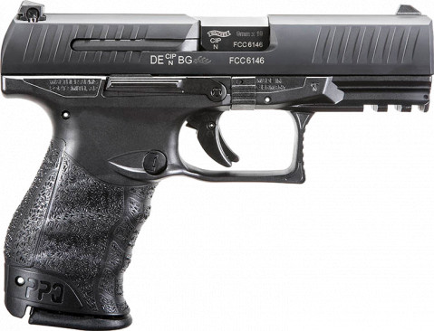 "Walther PPQ M2 9mm 4"" facing right"