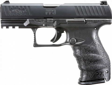 "Walther PPQ M2 9mm 4"" facing left"
