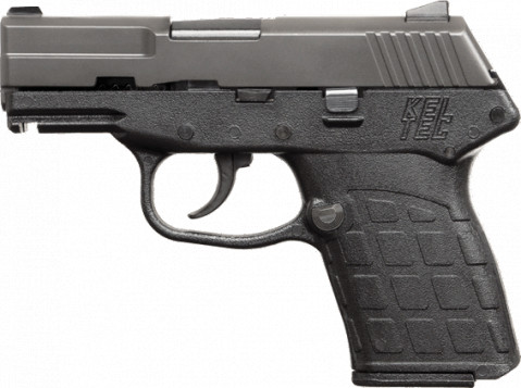 Kel-Tec PF-9 facing left