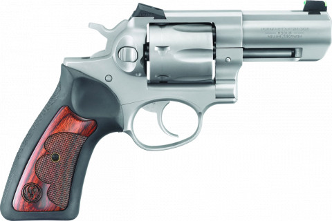 "Ruger GP100 Wiley Clapp 3"" facing right"