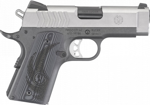 Ruger SR1911 Officer facing right