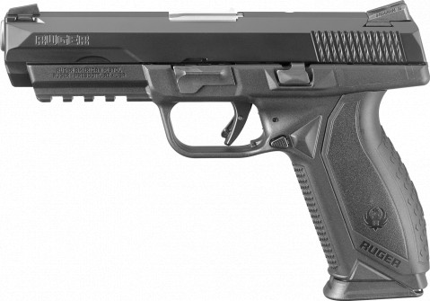 Ruger American Duty 45ACP facing left