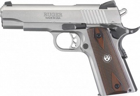 Ruger SR1911 Commander facing left