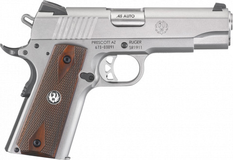 Ruger SR1911 Commander facing right
