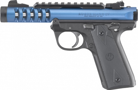 Ruger Mark IV 22/45 Lite facing left