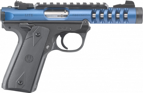 Ruger Mark IV 22/45 Lite facing right