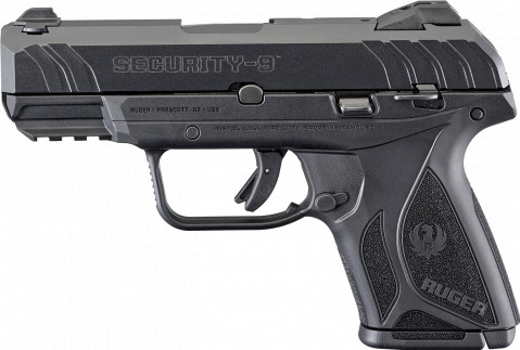 Ruger Security-9 Compact facing left