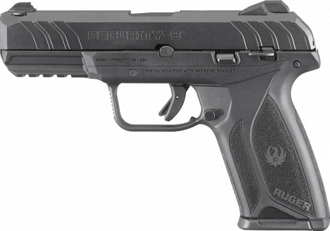 Ruger Security-9 facing left