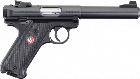 Ruger Mark IV Target facing right