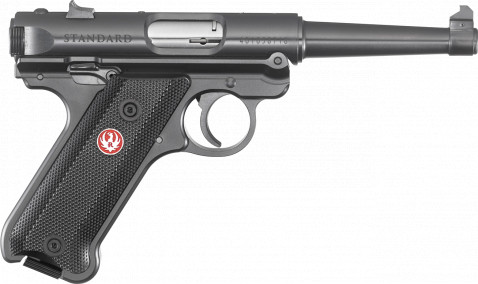 "Ruger Mark IV Standard 4.75"" facing right"