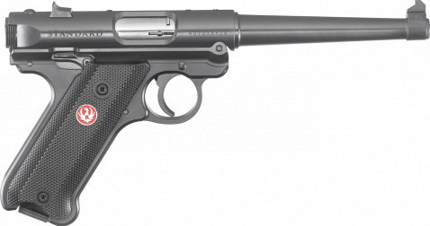 "Ruger Mark IV Standard 6"" facing right"