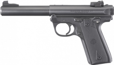 Ruger Mark IV 22/45 facing left